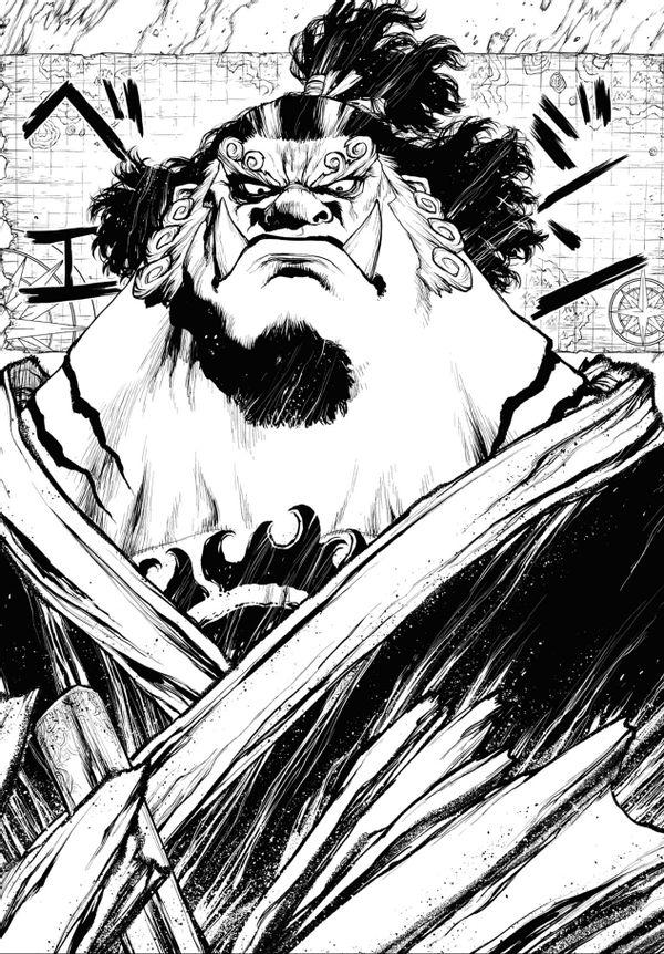 海賊王:艾斯小說第2話圖透!紅發團帥氣登場!艾斯攻擊白胡子