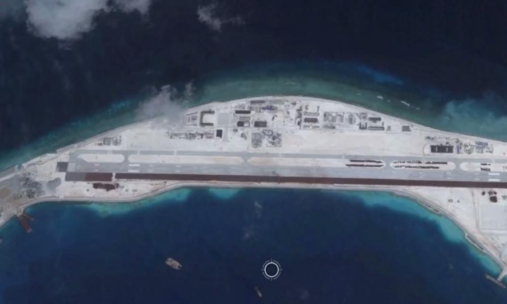 """厉害了我的国!已在南海吹填8座岛礁,中国不愧称为""""基建狂魔"""""""