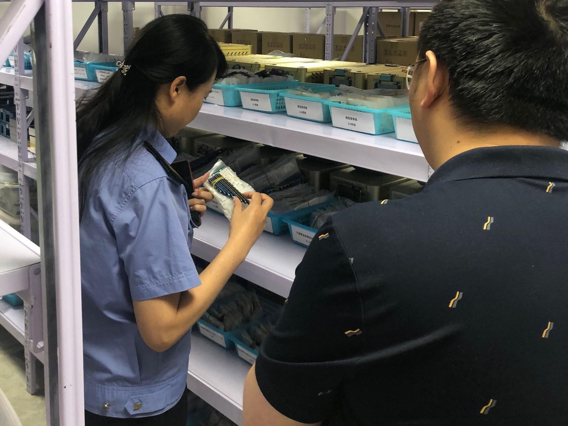 安宁区积极开展无菌和植入性医疗器械专项监督检查