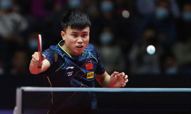 中国男乒开发出新技战术,专门克制接发拧拉,目标应是张本智和