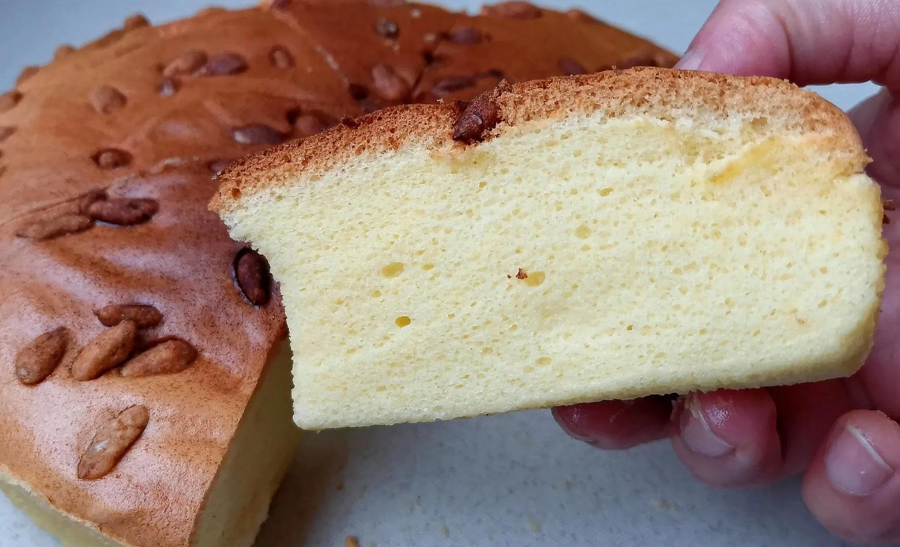 原来糯米粉也能做蛋糕,像棉花一样柔软,比戚风蛋糕好吃多了 美食做法 第13张