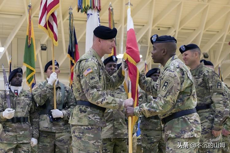 美国陆军主力战斗部队部分指挥官一览
