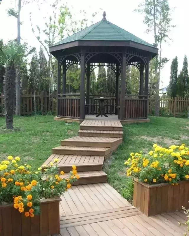 细数│那些庭院中的不可缺少的防腐木