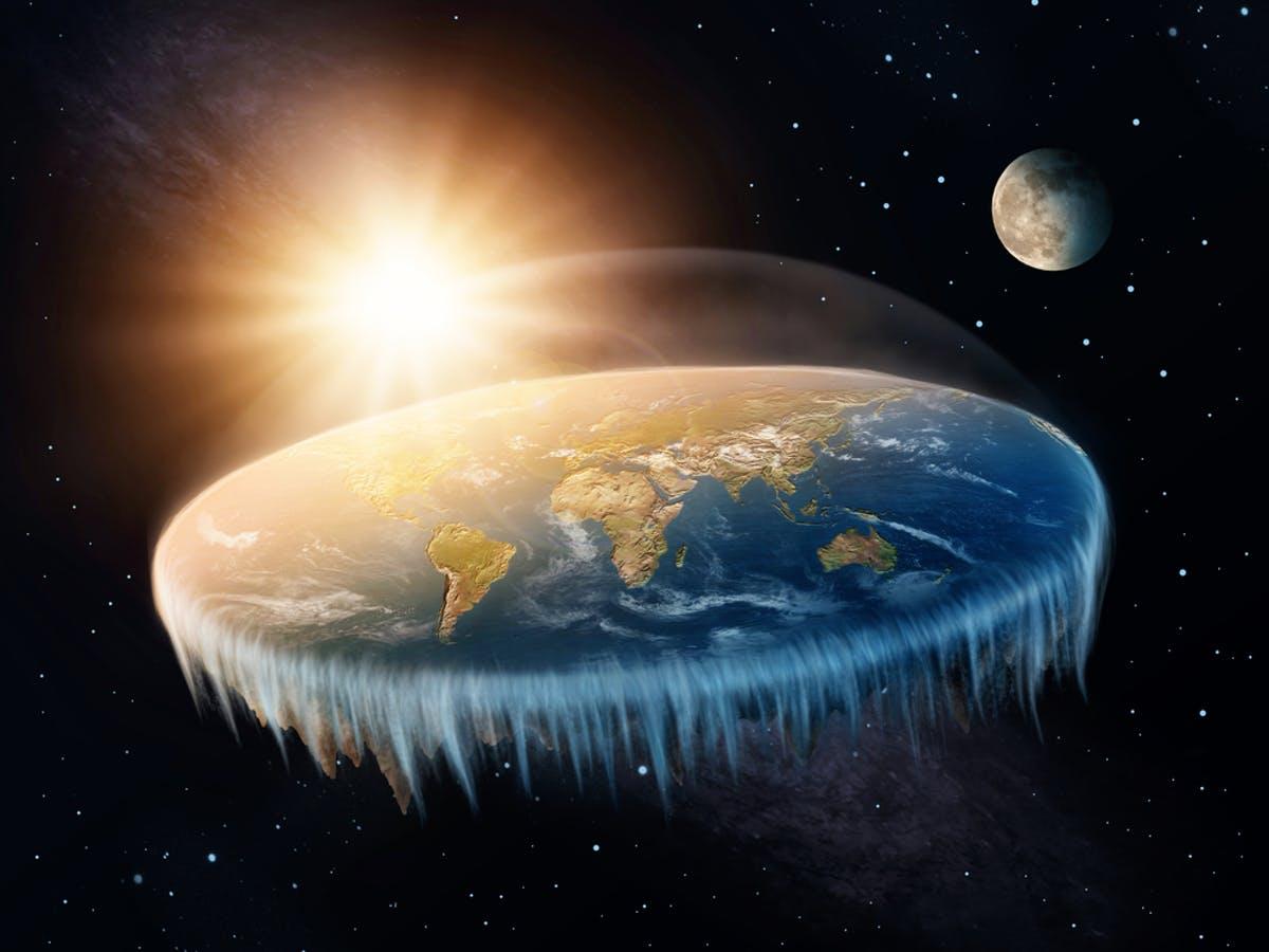如果地球是平的,会发生什么?
