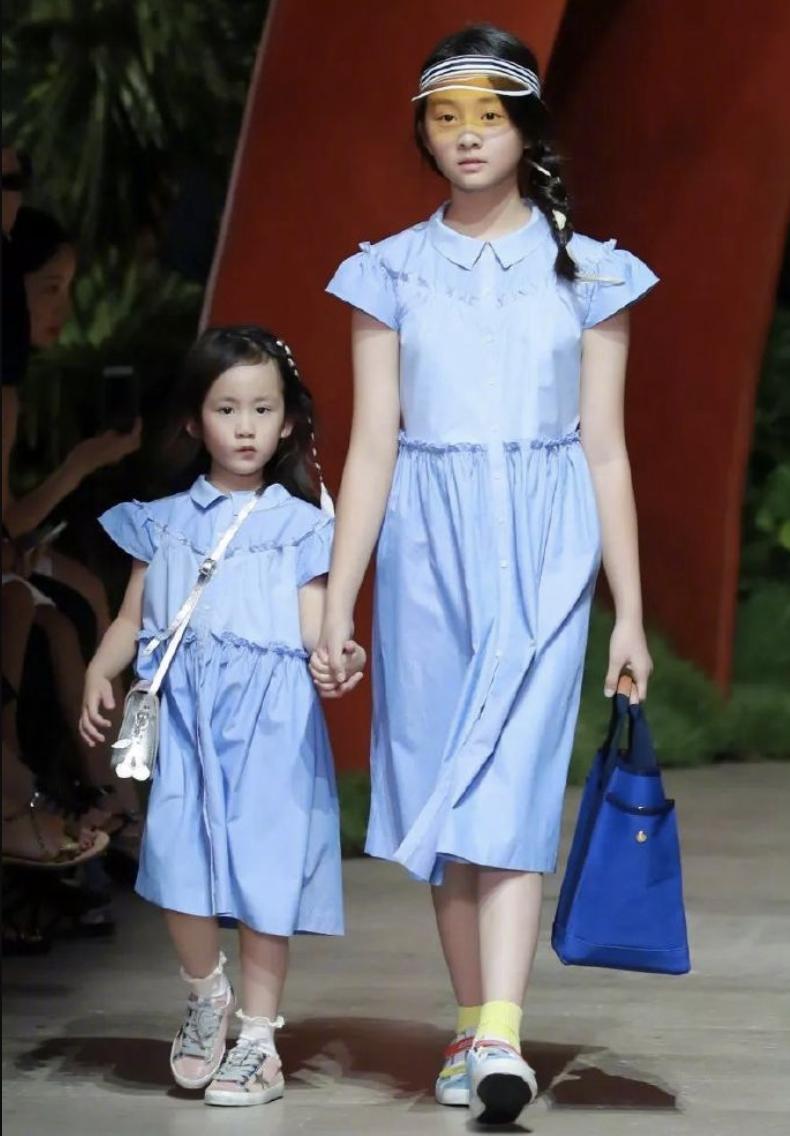 10位星二代小公主走秀,個個都是精緻萌娃,顏值氣場比父母還能打