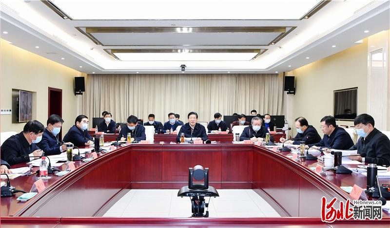 王东峰视频约访包联信访事项并主持召开省委专题会议