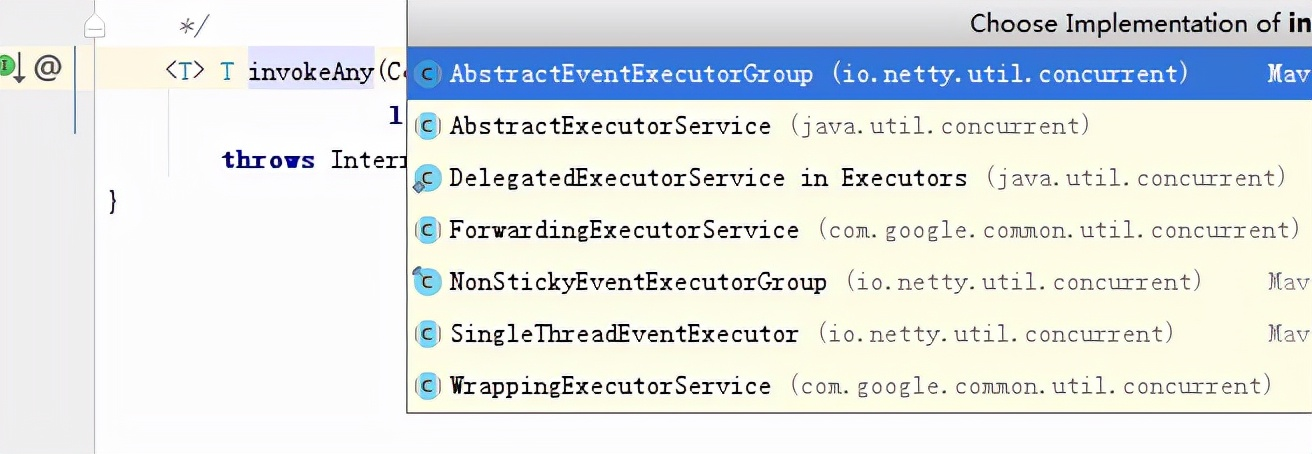 Netty对Executor实现机制分析