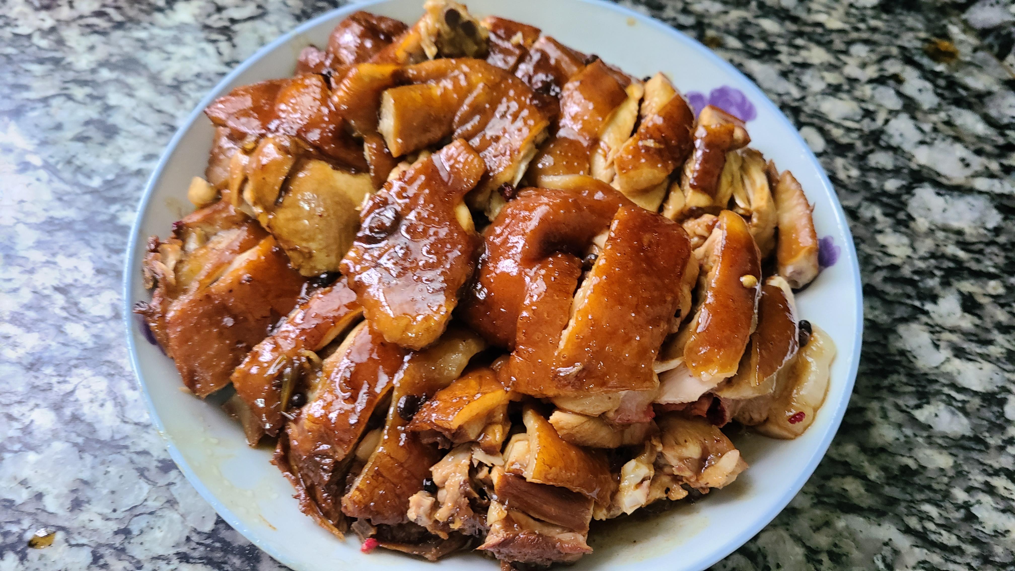 过年鸡肉这样做更香,简单做法又好吃,味道浓香又好看 美食做法 第14张