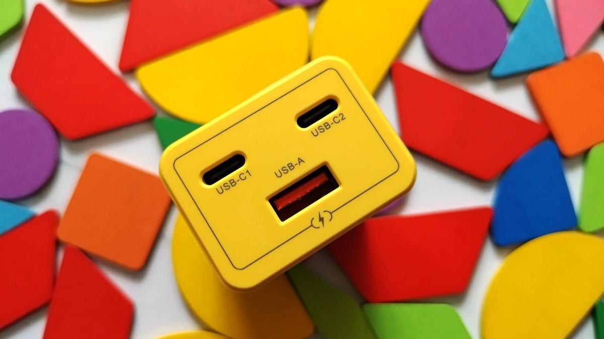 萌力无限快乐满电,努比亚小黄人版65W三口氮化镓充电器体验