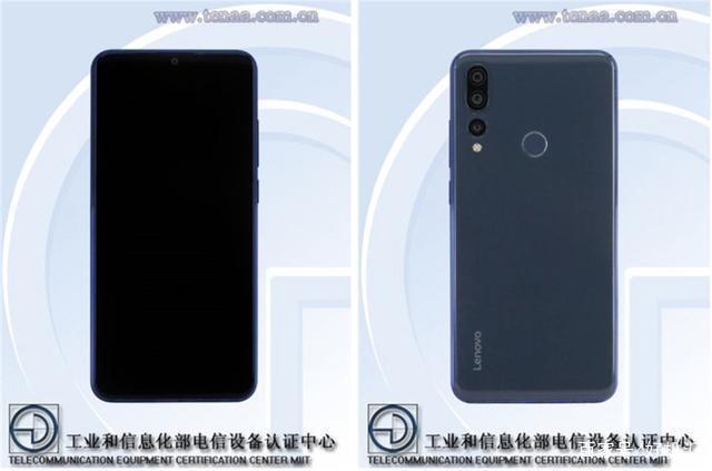 想到新手机Z5s上映十二月:后置摄像头三摄设计方案酷似P20 Pro?