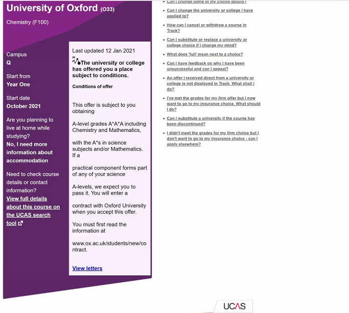 喜报丨牛津大学录取来啦