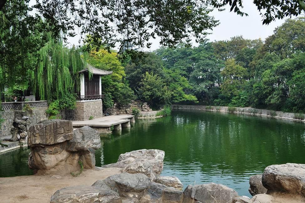 """西安一城市公园,被称为""""陕西第一园"""",却被人遗忘"""