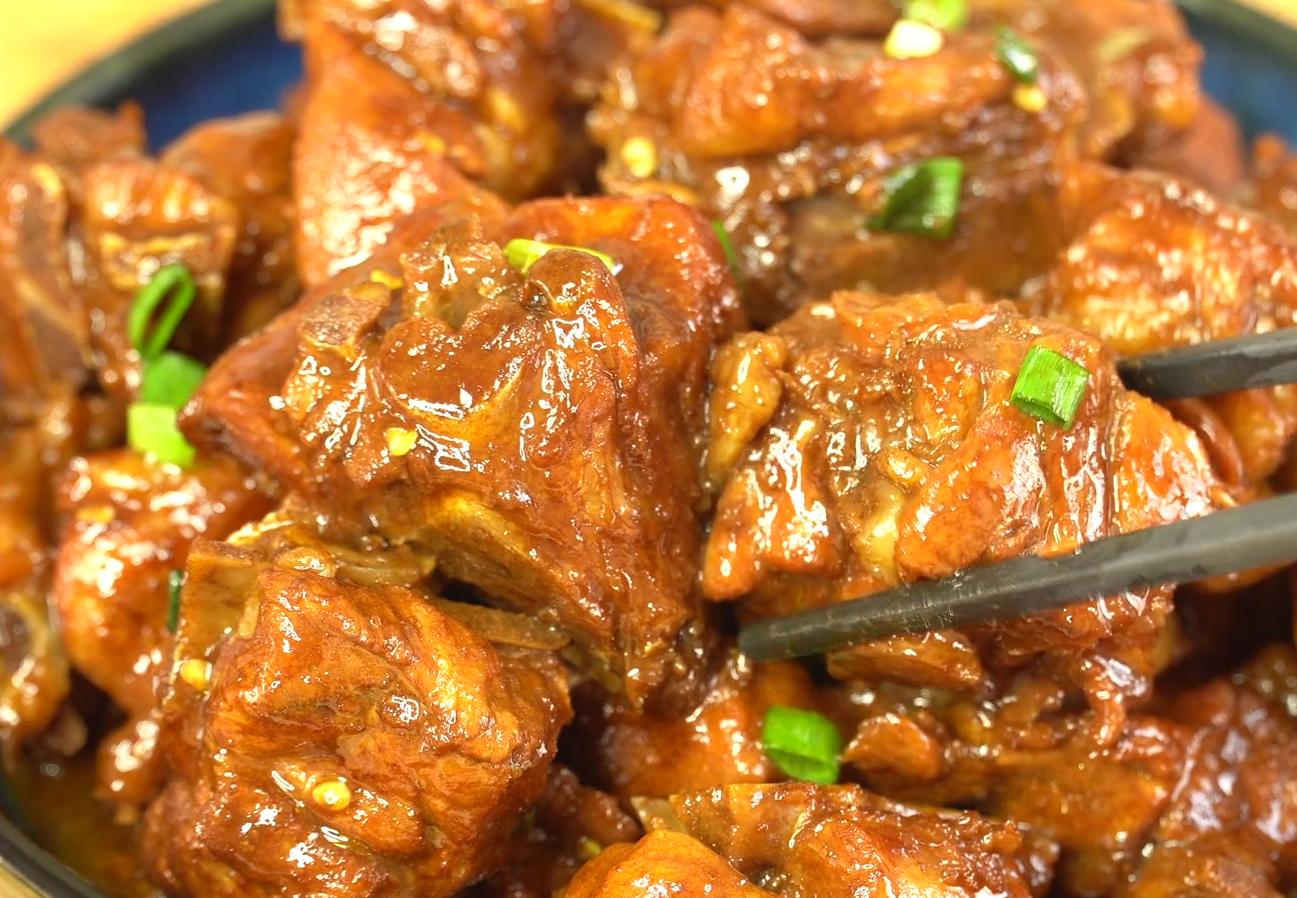 這才是紅燒排骨最好吃的做法,軟爛入味,香而不膩,看著都流口水