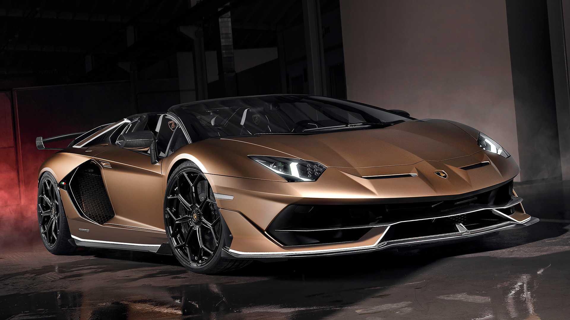 兰博基尼Aventador超跑总售出一万台,达到历史里程碑