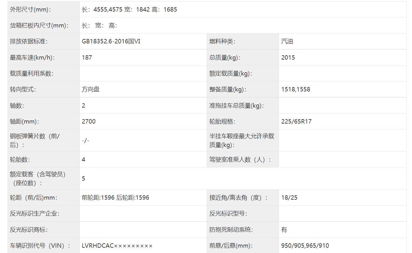 前后细节略有修改,中期改款马自达CX-5申报信息曝光