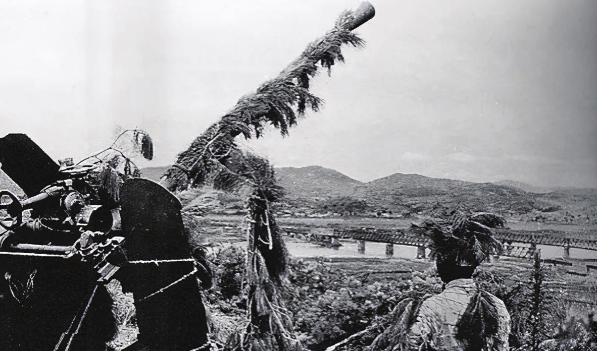 金刚川原型,抗美援朝战争期间的高炮部队