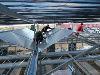 智能温室建造、温室大棚施工建造步骤怎么做
