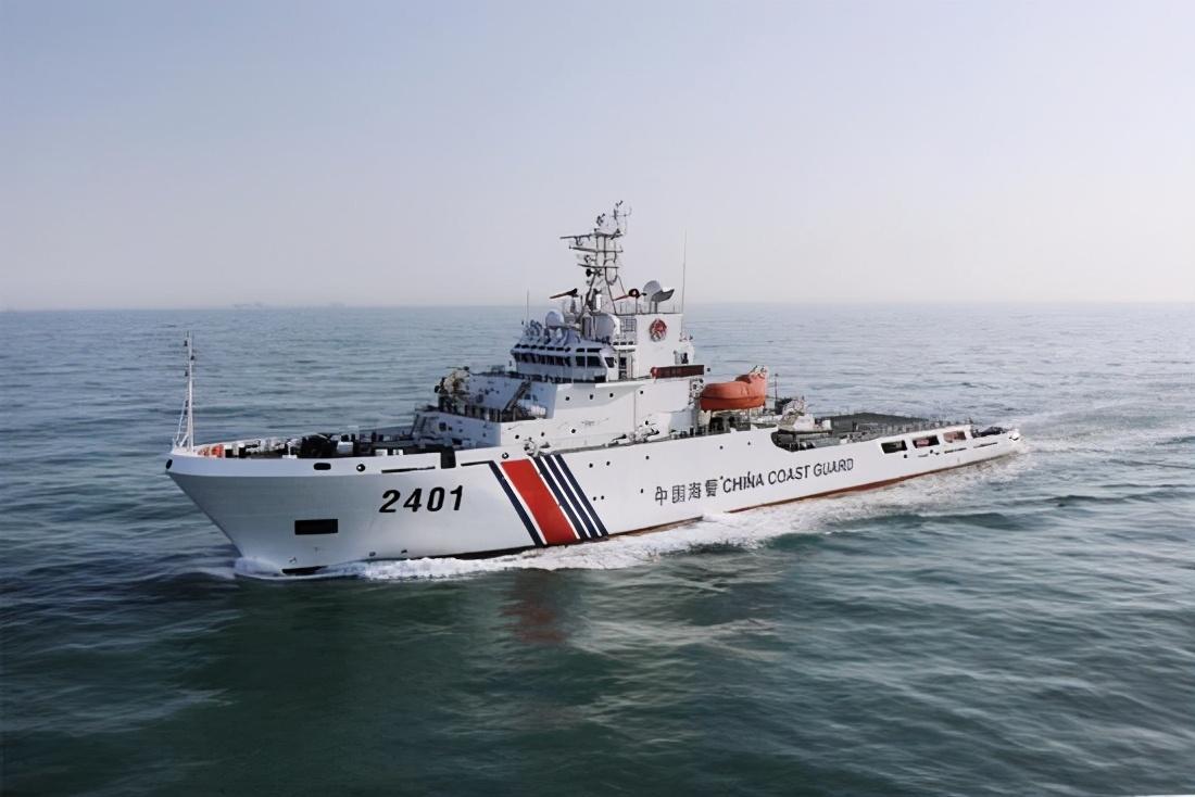 美軍艦屢次強闖南海?我方卻只能驅離,海警急需七千噸級別碰瓷船