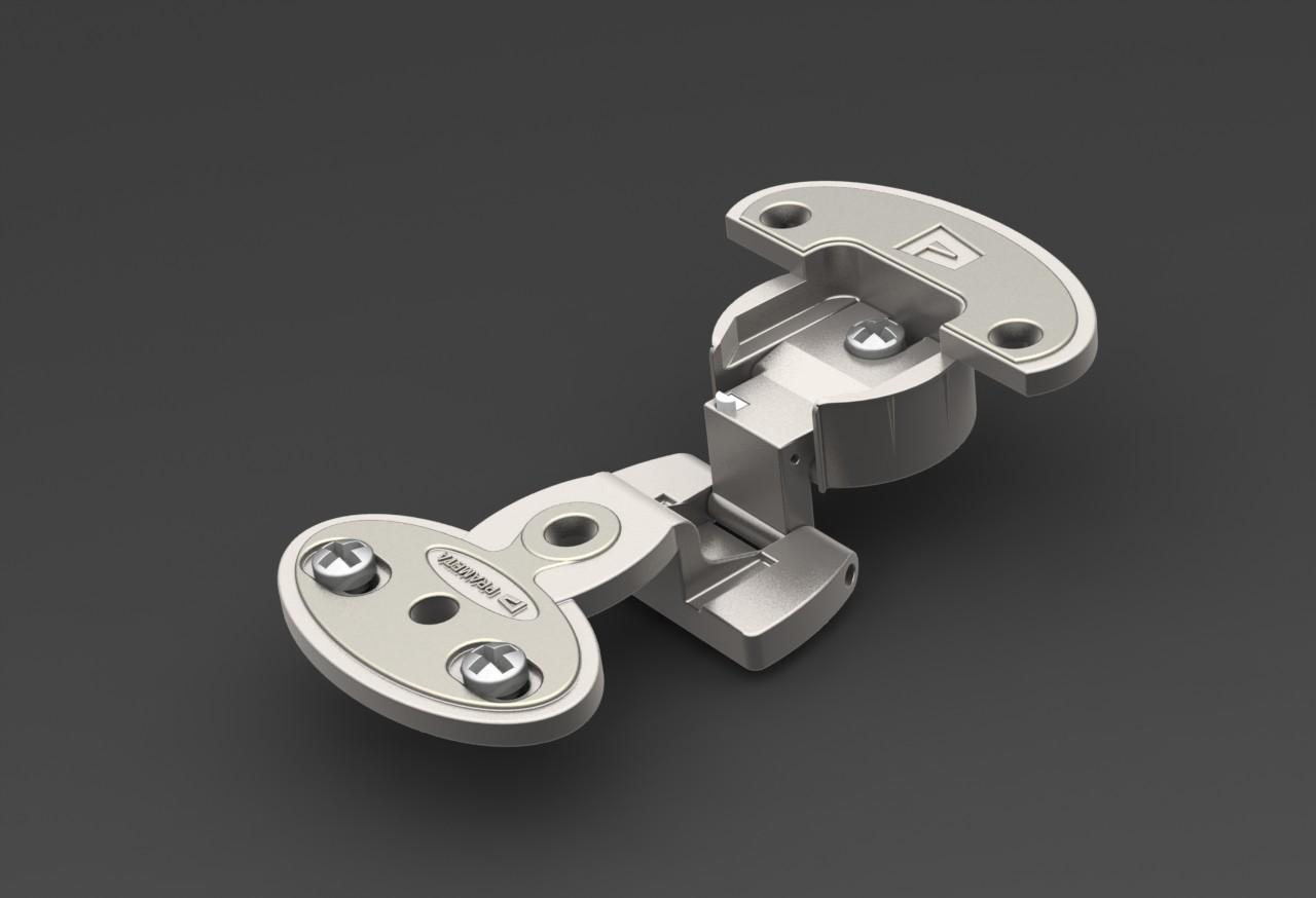 cabinet hinge柜铰链3D数模图纸 Solidworks设计