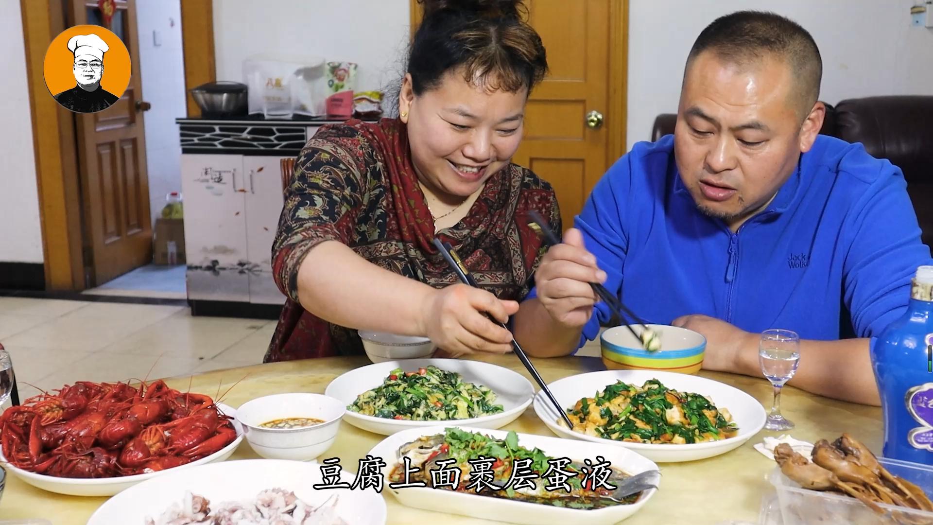豆腐加鸡蛋这样做,我家一周吃3次,每次米饭都不够吃,太香了 美食做法 第7张