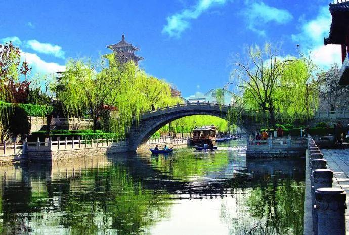 护城河的百年风貌,全在这些旧照片里了!