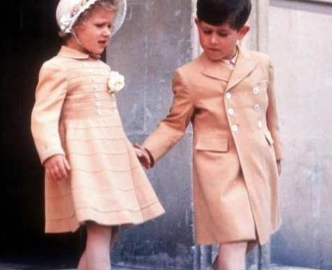 """安妮公主宠爱哈利,曾说戴安娜爱出风头,却对侄子上演""""摸脸杀"""""""