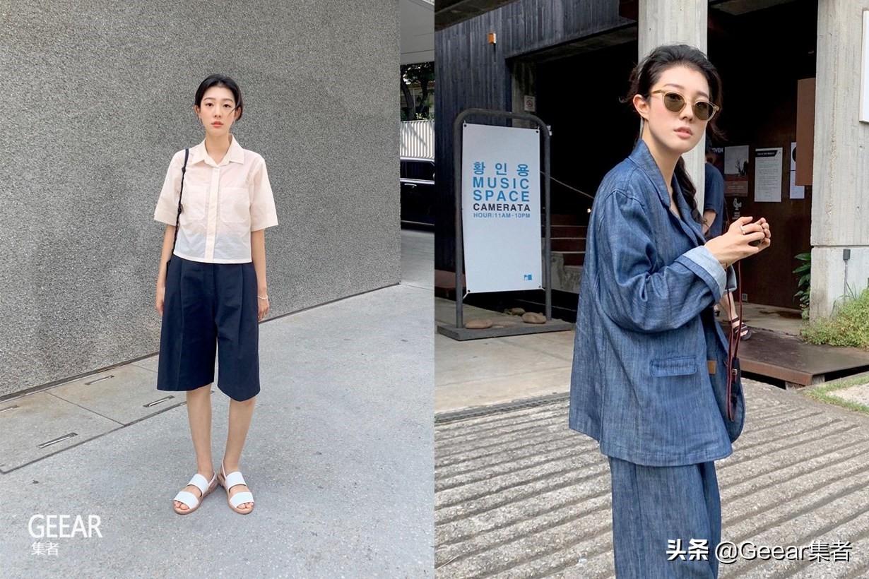 看这个韩国女生用基本单品,穿出各种Effortless Chic!
