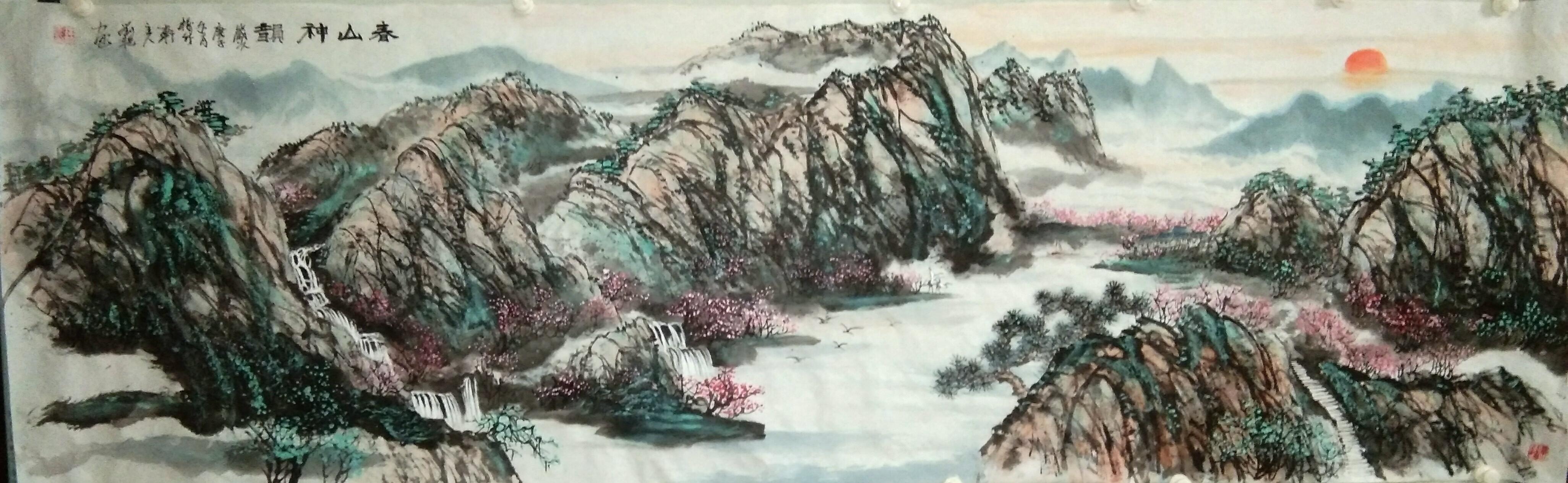 画家刘友艳2021迎春作品展