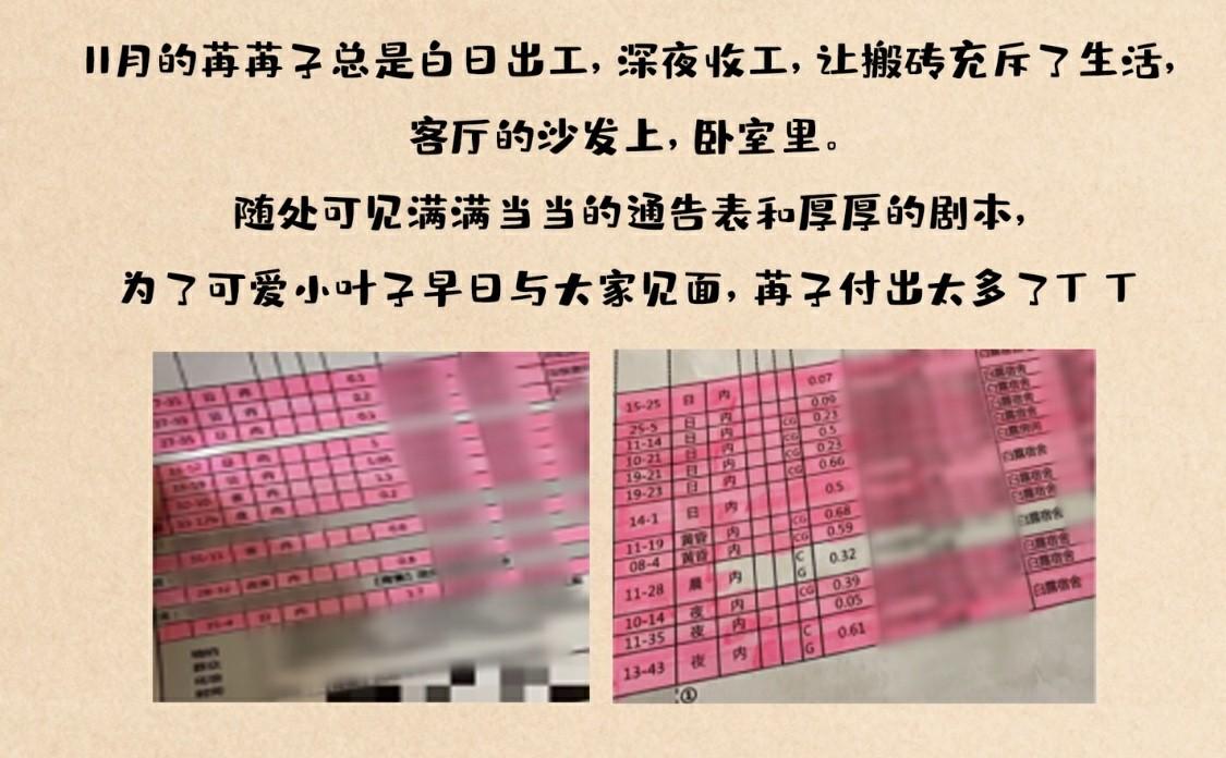 真・搬砖人・彭小苒上线 新戏拍摄造型萌兮兮