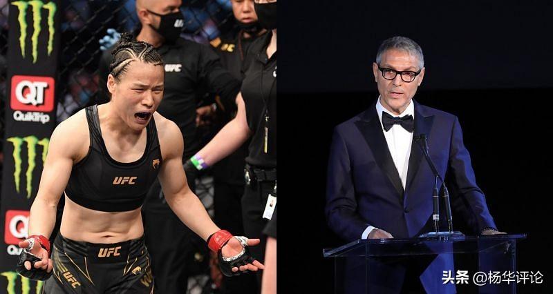 UFC老板只管赚钱不关心拳手,错把张伟丽叫李娜,夸耀中国市场大