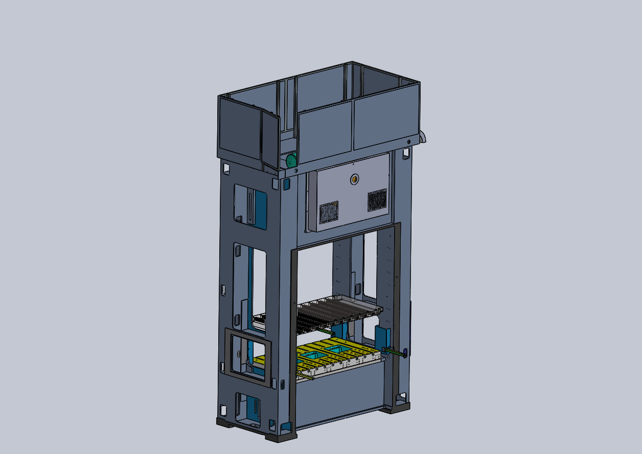PRESSA N9 MOSSINI压力机3D图纸 STEP格式