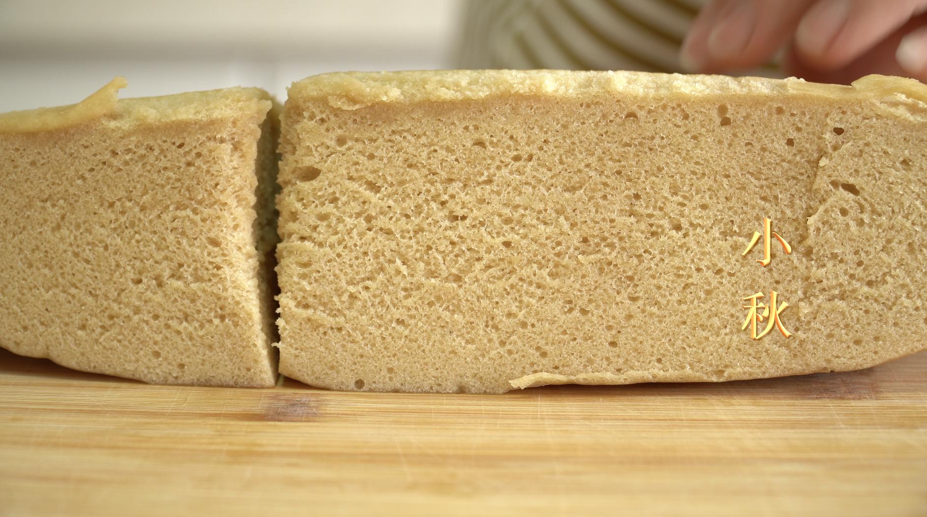 紅糖發糕新配方老做法:只要用筷子攪一攪,蓬鬆宣軟,細膩有嚼勁