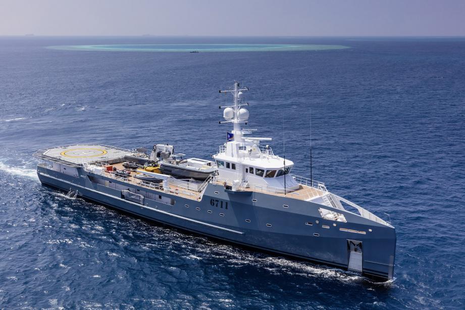 这周,67米DAMEN达门支援艇6711 GEO以3000万欧元售出