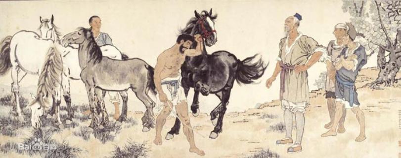徐悲鸿—他是中国近现代艺术的种子
