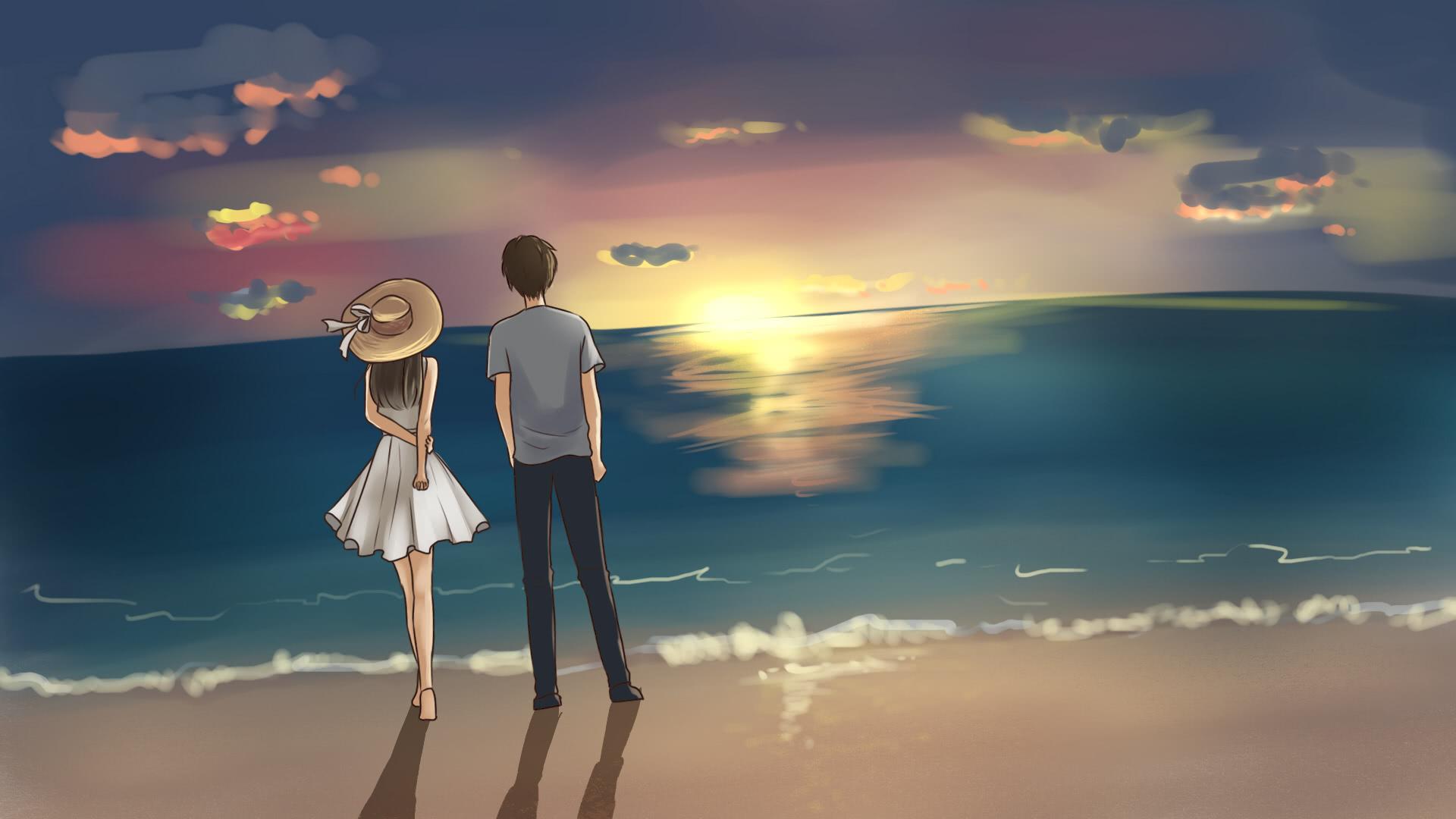 有些人不会轻易说爱,有些人不会轻易离开
