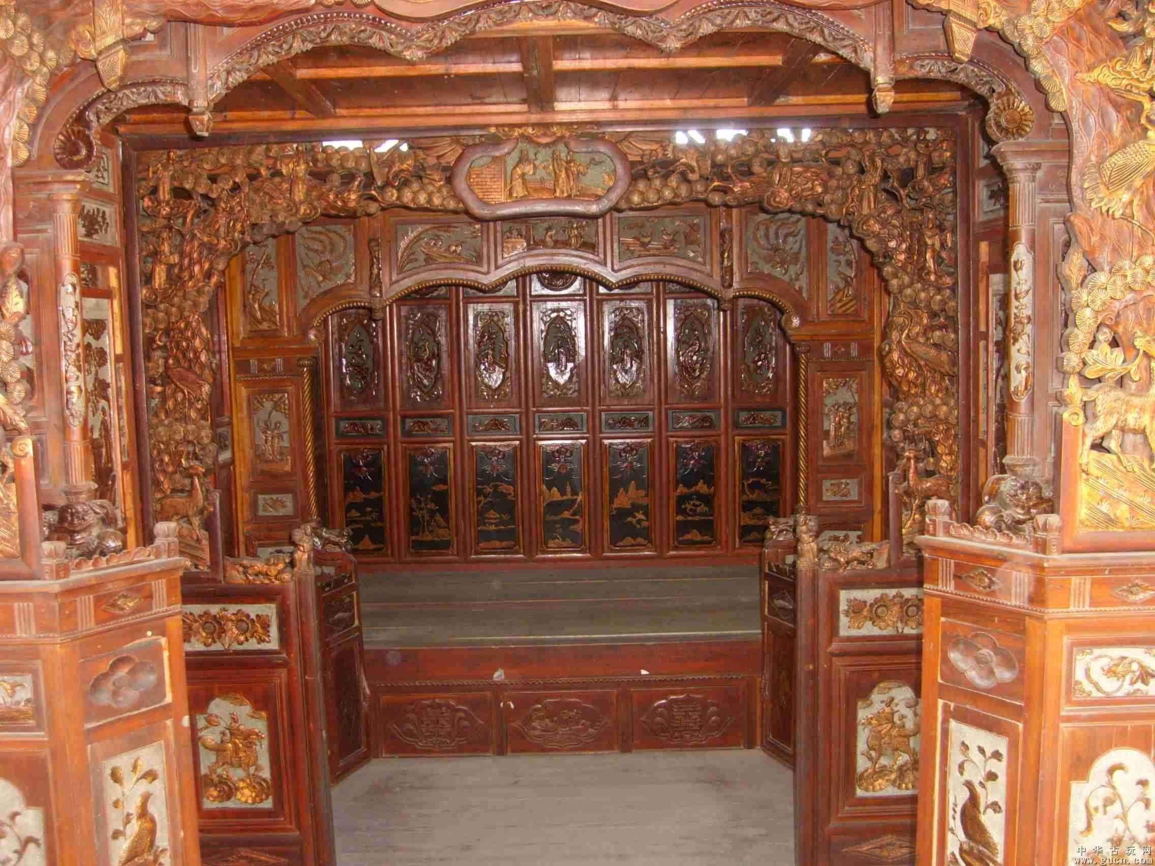古代居民建筑的外部结构与布局如何?使用的家具又有哪些?