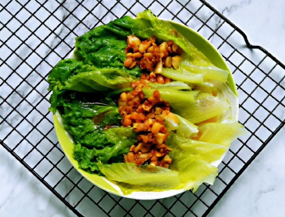 蒜蓉生菜的做法步骤图 品尝春天的味道