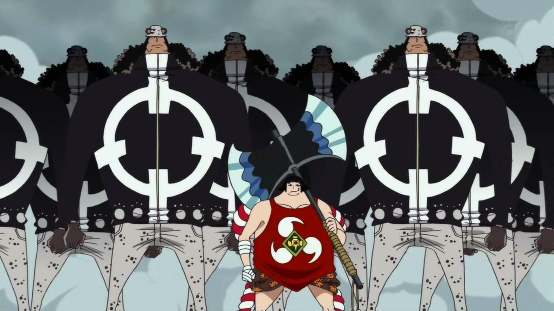 海賊王中的海軍為什麼不能小看?強者數量多,還掌握著高科技