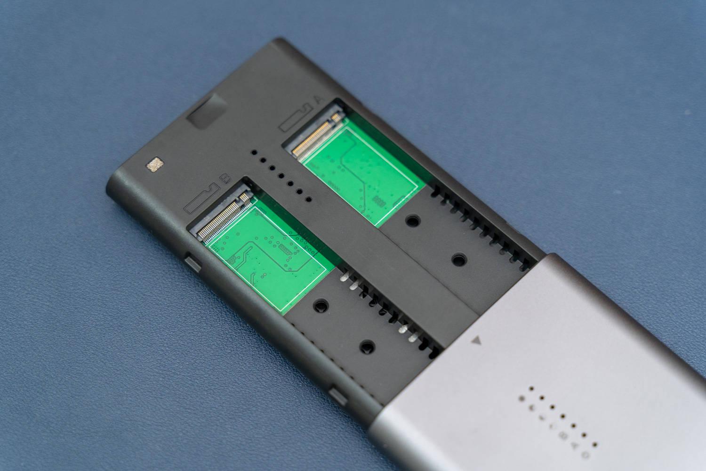 丐版Mac mini的扩容方案,外接优越者双盘硬盘盒