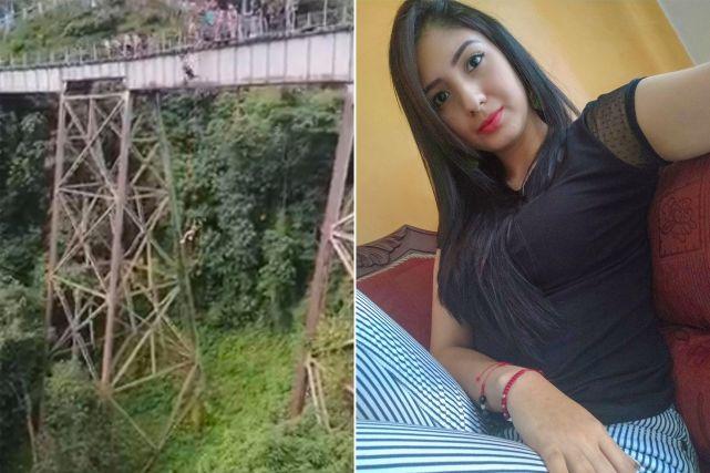 听错信号!哥伦比亚女子没绑弹力绳蹦极当场死亡