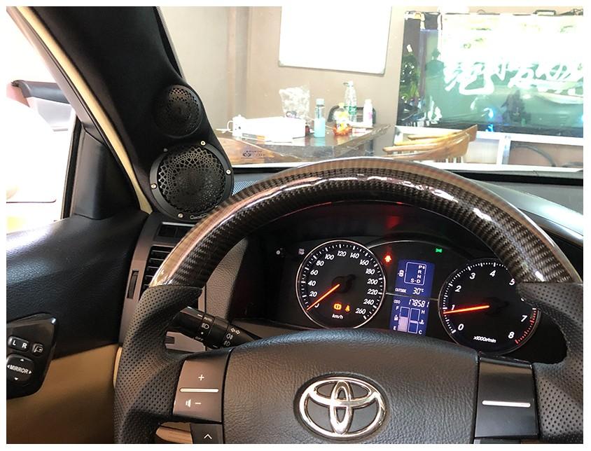论驾乘品质,丰田锐志音响改装后的表现如何呢?