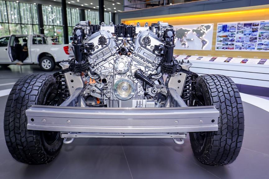 承受扭矩水平高达750N·m,长城汽车这款超级动力总成真的不一般