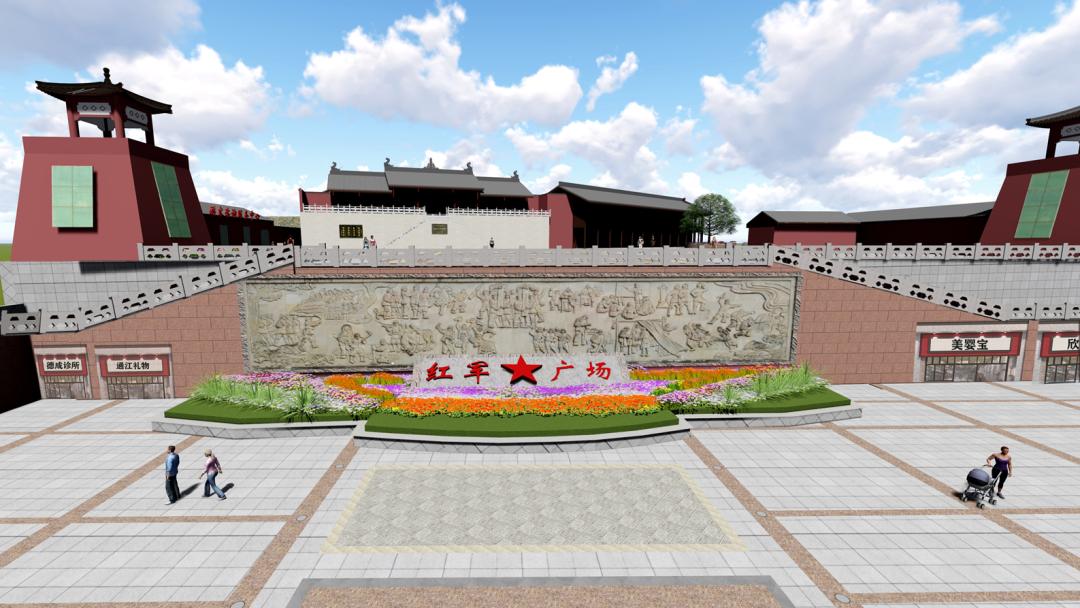 四川省巴中市通江县红军街老旧小区改造项目一期施工顺利完工