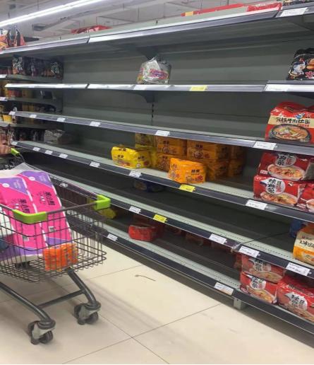 西安临潼兵马俑紧急关闭,临潼居民开始超市抢购