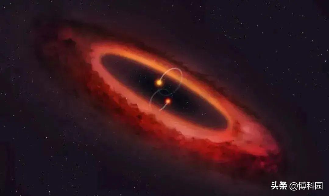 在人马座双星光线中,发现神秘的变化,距离我们才10光年