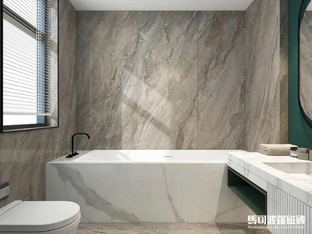 精致感满分!马可波罗大板为您打造高颜值浴室间