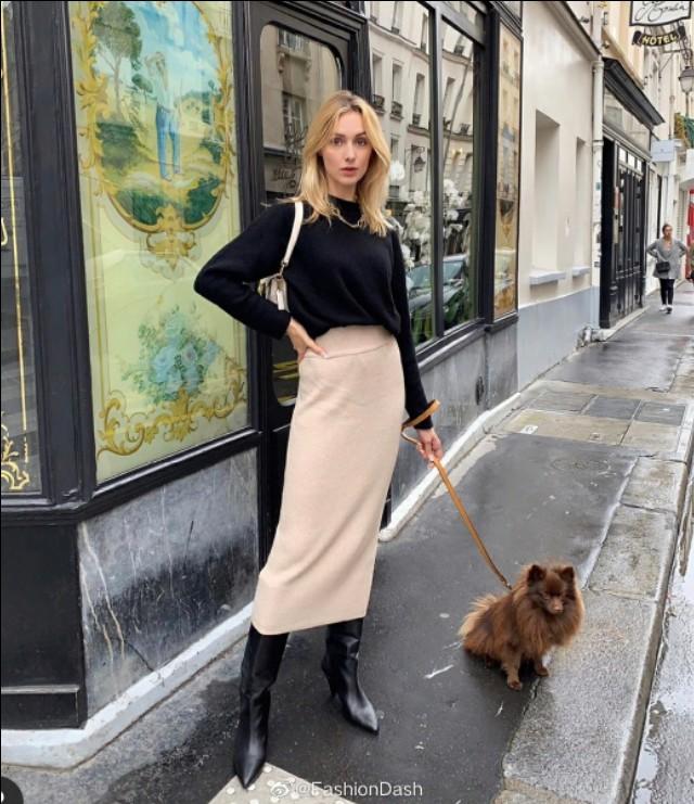 博主穿搭|法国博主lucie mahe日常穿搭合辑,典型的法国女人