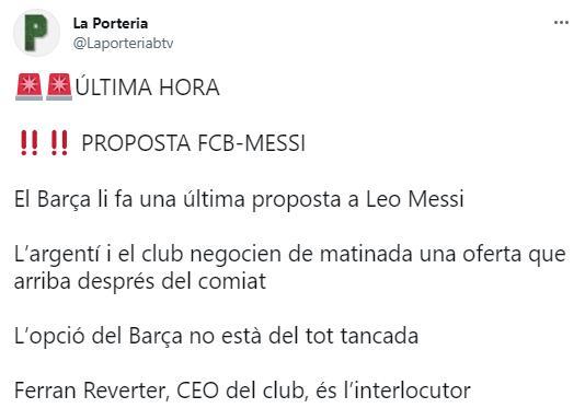 梅西转会消息汇总:跟巴黎还在谈合同细节,巴萨突然送上最新报价