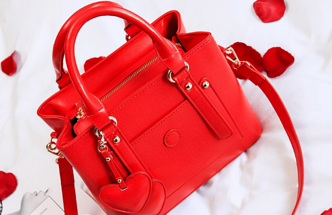 没人规定新娘婚包一定要是红色