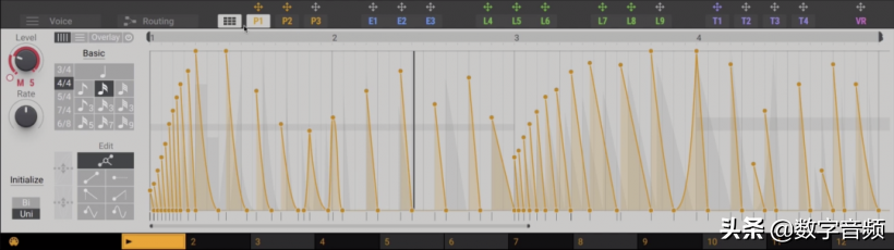 Massive X:Obstacles最适合用来做旋律的预设